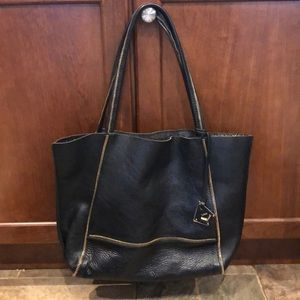 Botkier Black and Gold Tote
